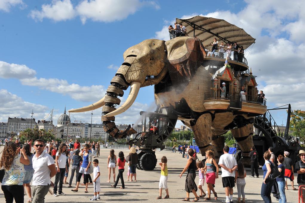Европа : (Не)туристическая Франция: Нант