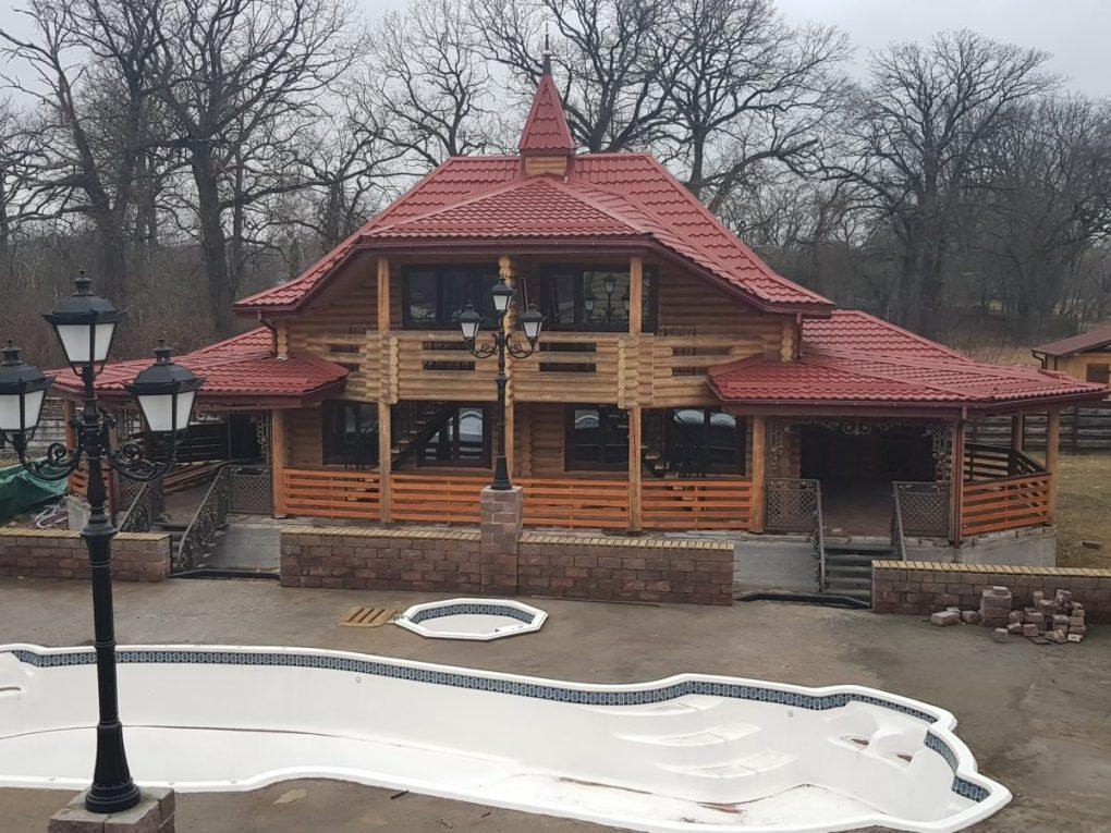 Украина : Загородный комплекс Киева Fort Pirnov Park